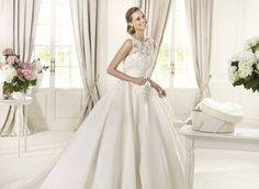 Pronovias presents the Dalia bridal dress, Collection 2015 COSTURA White Wedding Gowns, Designer Wedding Gowns, 2015 Wedding Dresses, Wedding Bride, Bridal Dresses, Couture Collection, Bridal Collection, Dress Collection, Pronovias Wedding Dress