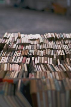 The joy of discovering an entire stack of books to dig through :)