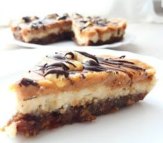 Raw Vegan, Vegan Vegetarian, Raw Food Recipes, Healthy Recipes, Vegan Cheesecake, Vegan Sweets, Deserts, Food And Drink, Treats