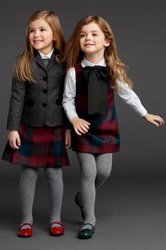 Dolce & Gabbana Fall-Winter 2013/2014 Girls wear