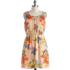 Pretty in Posies Dress ($50) via Polyvore