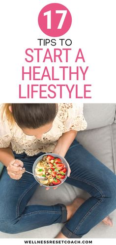Starting a healthy lifestyle is always a challenge. But, here are some tips to get you started. We all want to be healthier and feel healthier on the inside out. Whether you want to lose weight, eat better, workout more, or just feel better about yourself, here's how you can get started. Get Healthy, Healthy Tips, Fitness Diet, Health Fitness, Gym Workout Tips, Healthy Lifestyle Tips, Living A Healthy Life, Want To Lose Weight, Mindful