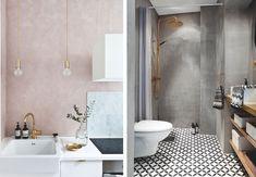 """""""Engang malede vi et toilet helt lilla, men det holdt ikke i mange timer"""" Clawfoot Bathtub, Nars, Bathroom, Interior, Kitchen, Home Decor, Washroom, Cuisine, Indoor"""