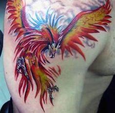Phoenix Bird By Edytattoo On Deviantart Design 428x420 Pixel