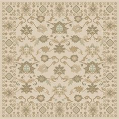 World Menagerie Topaz Hand-Tufted Khaki Area Rug Rug size: 5' x 8'