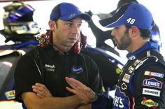 March 1, 2012  NASCAR docks Jimmie Johnson 25 points, suspends Chad Knaus  http://www.usatoday.com/sports/motor/nascar/story/2012-02-29/Jimmie-Johnson-Chad-Knaus-penalized/53304856/1