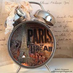 Richele Christensen: Paris Assemblage Clock