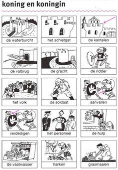 Werkboekje Ridders En Kastelen Voorkant Thema Ridders
