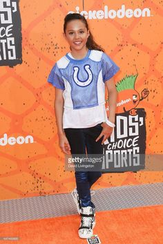 Actress Breanna Yde arrives at the Nickelodeon Kids' Choice Sports Awards 2016 at the UCLA's Pauley Pavilion on July 14, 2016 in Westwood, California.