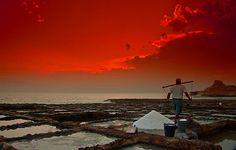 Salt Pans on the north coast Gozo, near Atlantis Gozo Diving