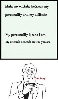 personality and attitude