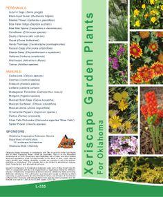 Xeriscape Garden Plants for Oklahoma - Oklahoma State University