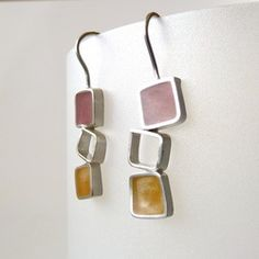 My sister's Jewelry!! Resin earrings - Jessica Rose Jewelry