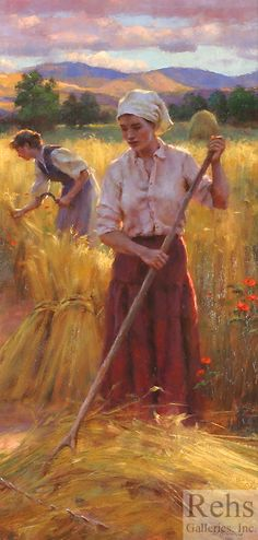 Gregory Frank Harris  Into the Evening Light
