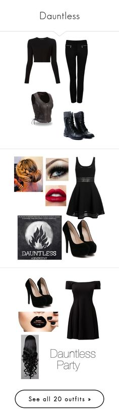 """""""Dauntless"""" by alexys0612 ❤ liked on Polyvore featuring Proenza Schouler, Forever New, Elizabeth and James, mel, Jane Norman, Charlotte Russe, Ksubi, Evans, Forever 21 and H&M"""