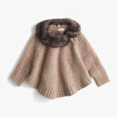 The perfect clothing item to add extra style and warmth to your wardrobe. Our style editor's are obsessed with capes and ponchos for your little fashionistas.