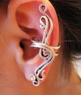 Solid Chic Single Ear Earring $12