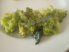 Prato Caseiro: Brócolos salteados