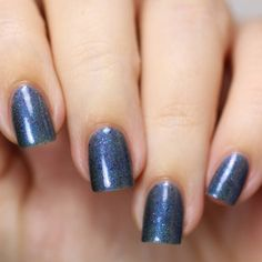 698d2075166f3 Winter Berry Blue.001 Blue Nail Polish with Red Glitter Holiday Collection  Nail Lacquer
