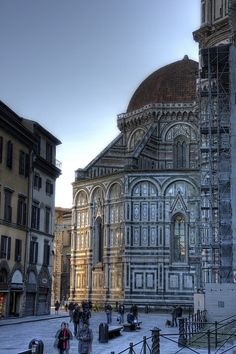 Basilica di Santa Maria del Fiore Florence, Italy Walking in the footsteps of Michaelangelo and DaVinci