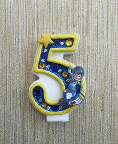Handcrafted Miles From Tomorrowland or ANY by AmbersBirthdayJewels