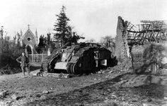 This Day In History: The British Use The Tank For the First Time In Battle (1916)
