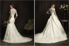 Lace Back Wedding Dresses - Part 2 - Belle the Magazine . The Wedding Blog For The Sophisticated Bride