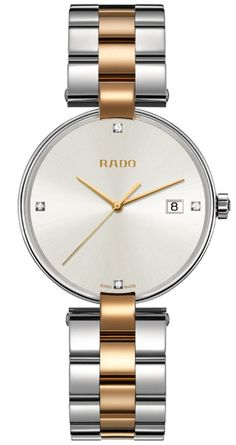 Rado Watch Coupole L #add-content #bezel-fixed #bracelet-strap-gold #brand-rado #case-material-steel #case-width-36mm #delivery-timescale-call-us #dial-colour-white #gender-ladies #luxury #movement-quartz-battery #official-stockist-for-rado-watches #packaging-rado-watch-packaging #style-dress #subcat-coupole #supplier-model-no-r22852713 #warranty-rado-official-2-year-guarantee #water-resistant-50m