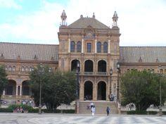 Sevilla, Plaza de España.