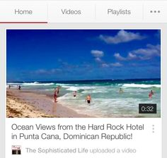 Feeling cold? Watch this video-Travel to Punta Cana in Dominican Republic and feel the sun, the sand and the ocean breezes!