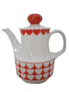 Heart Coffee pot