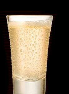 Tequila & champaign shot