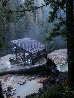 Umpqua Hot Springs, Oregon