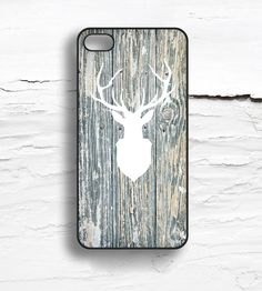Deer & Faux Wood iPhone Case | Collections iPhone | Hello Nutcase | Scoutmob Shoppe | Product Detail