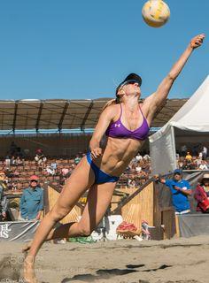 Kerri Walsh Jennings - AVP pro Volleyball San Francisco by DaveHorn3