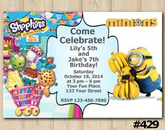 20 Joint Birthday Party Invitation Wording 6