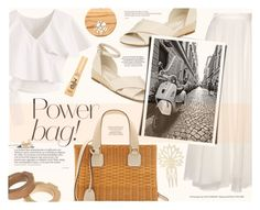 """The Last Straw: Basket Bags"" by katarina-blagojevic ❤ liked on Polyvore featuring Mark Cross, Lanvin, Chicwish, Anne Klein, Yves Saint Laurent, Marni, Too Faced Cosmetics, Anastasia and basketbags"