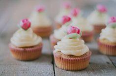 pasteles con rosas