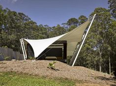 Verrierdale Tent House / Sparks Architects & Stepping Stone House / Craig Tan Architects | Australian ...