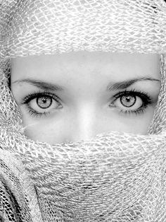 Eyes are the mirror of the soul. Something in it.