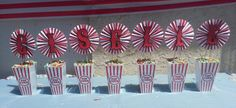 Carnival/Circus Name Center Piece by mis3changos on Etsy, $20.00