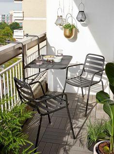 Small Balcony Design, Tiny Balcony, Small Balcony Decor, Small Outdoor Spaces, Tiny House Design, Small Patio, Apartment Balcony Decorating, Apartment Balconies, Balcony Furniture