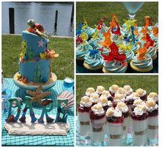 Sweet Eats Cakes: Finding Nemo/Under the Sea Baby Shower