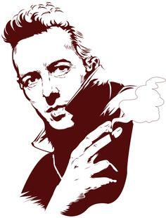 Tribute to Joe Strummer. Rest in peace
