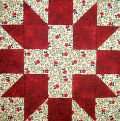 Starwood Quilter: Farmer's Daughter Sampler Quilt. Hearth and Home Block.
