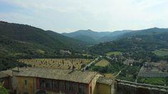Campagna spoletina vista dalla Rocca