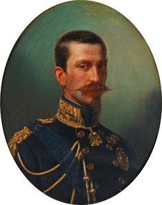 Ferdinando di Savoia, duca di Genoa, by Eliseo Sala (attributed), 1853-54, Royal Collection Trust
