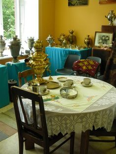 """Exhibition """"Samovars and Old Believers"""", Estonia"""