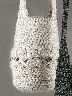 crochet bag, downloadable pattern.