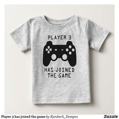 Player 3 has joined the game baby T-Shirt
